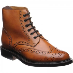 Harrison rubber-soled brogue boot