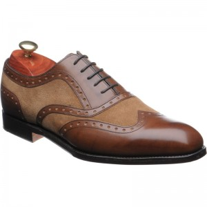Cambridge two-tone brogue