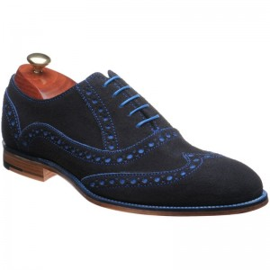 Grant Suede brogues