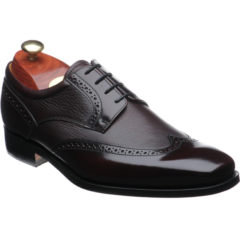 Barker Andrew two-tone brogue