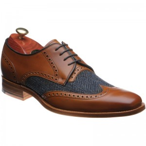 Barker Jackson tweed brogue