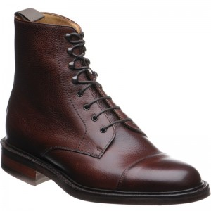 Barker Lambourn rubber-soled boots