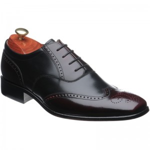 Dartford two-tone brogue