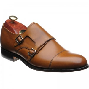 Barker Tunstall double monk shoe