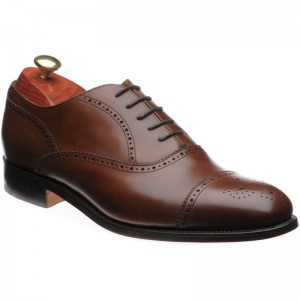 Barker Newcastle semi-brogue
