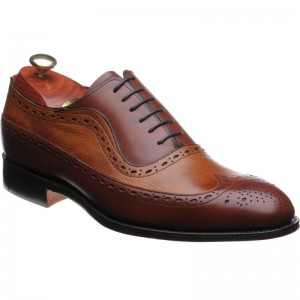 Rochester two-tone brogues