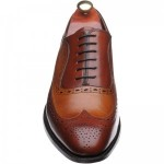 Barker Rochester two-tone brogue