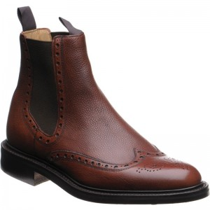 Thirsk brogue Chelsea boot