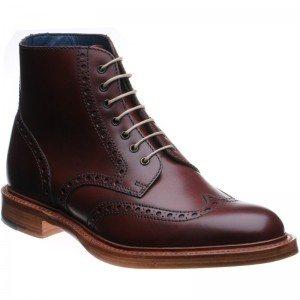 Butcher brogue boot