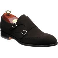 Barker Fleet double monk shoe