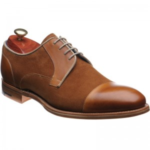 Barker Butler two-tone Oxfords