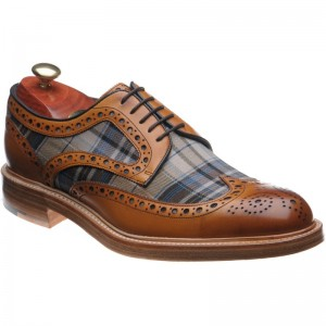 Barker Blair tweed brogue