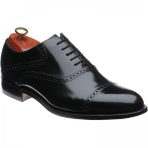 Barker Wilton semi-brogue
