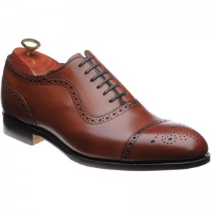 Barker Warrington semi-brogue
