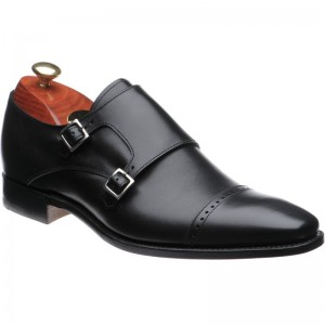 Lancaster double monk shoe