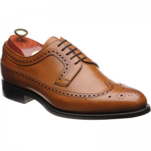 Barker Bath rubber-soled brogues