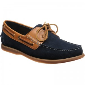 Navy Suede and Cedar Calf