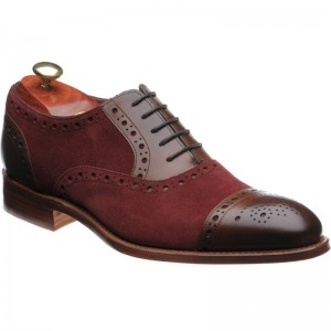 Dover two-tone semi-brogue
