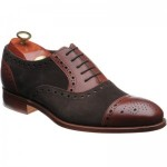 Barker Dover two-tone semi-brogue