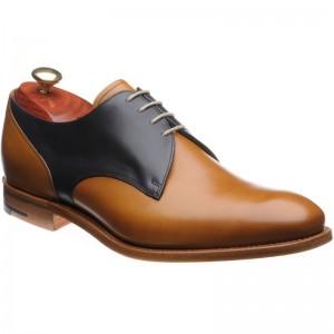 Barker Alvis two-tone Derby shoe