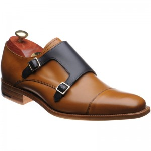 Barker Hillman double monk shoe