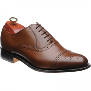 Barker Devon semi-brogue