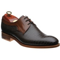 Benedict two-tone Derby shoe