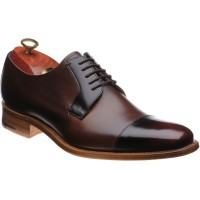 Barker Powell two-tone Derby shoes