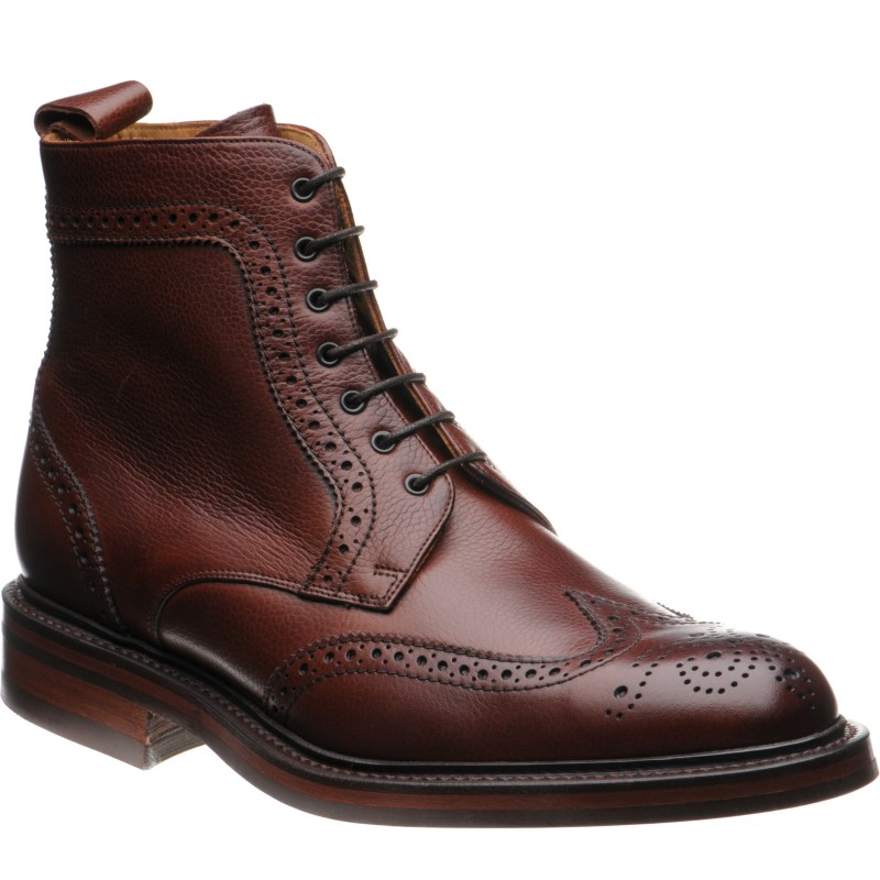 Calder brogue boot
