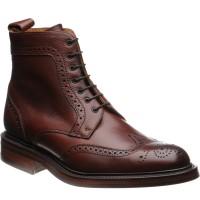 Barker Calder brogue boot