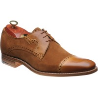 Barker Apollo two-tone Derby shoes