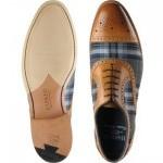 Hursley two-tone shoe