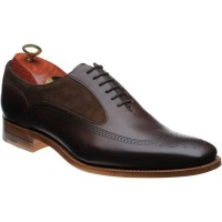 Barker Harding two-tone brogues