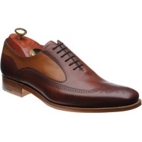 Barker Harding two-tone brogue