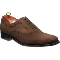 Barker Luke rubber-soled semi-brogues