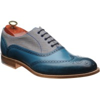 Barker Lennon two-tone brogues