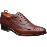 Barker Lamport two-tone rubber-soled brogues