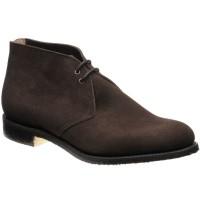 Church Sahara Crepe (dk edge) rubber-soled Chukka boots