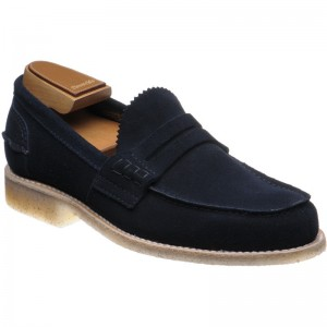 Church Pembrey Crepe in Navy Suede