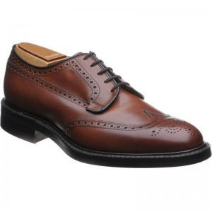 Grafton rubber-soled brogue