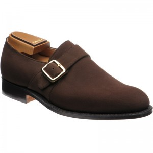 Church Westbury in Brown Superbuck Suede