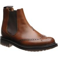 McEntyre brogue Chelsea boot