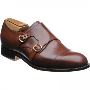 Cowes double monk shoe