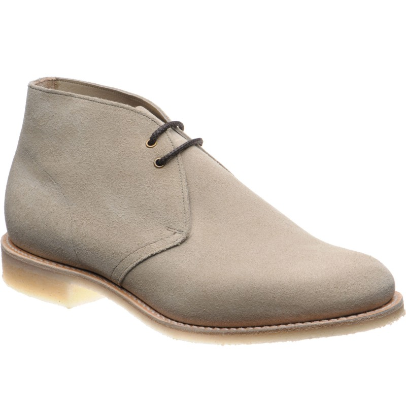 Church Sahara III Crepe rubber-soled Chukka boots