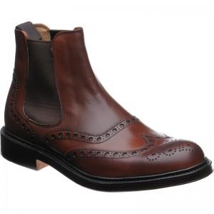 Tamar brogue Chelsea boots