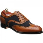 Cheaney Edwin two-tone brogue