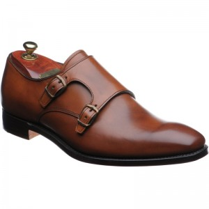 Tiverton double monk shoes