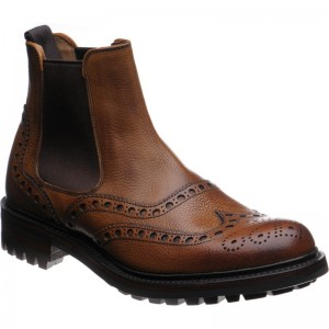 Tamar C brogue Chelsea boot