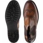 Cheaney Tamar C brogue Chelsea boot