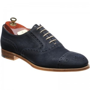 Cheaney Sidney semi-brogue